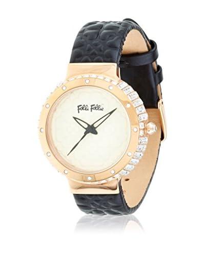 Folli Follie Reloj con movimiento Miyota Woman H4Hs-Heart4Heart Sym 33.5 mm
