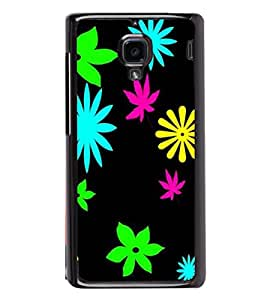 printtech Floral weed Pattern Back Case Cover for Xiaomi Redmi 1S , Xiaomi Redmi (1st Gen)