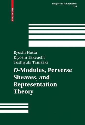 D-Modules, Perverse Sheaves, and Representation Theory: 236 (Progress in Mathematics)