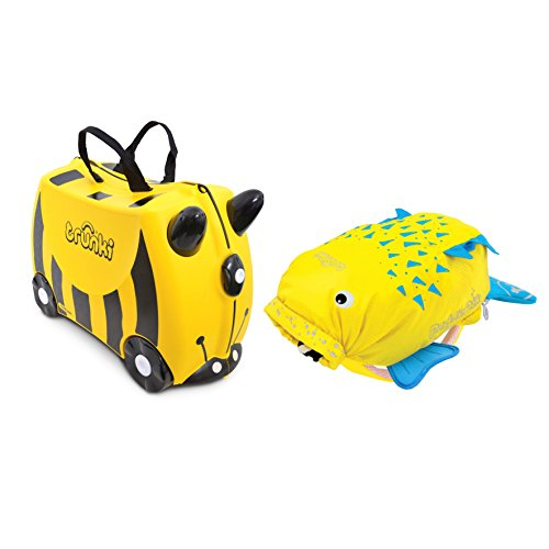 Trunki, Set Valise & Sac à dos Enfant, jaune (Jaune) - 0258-GB01