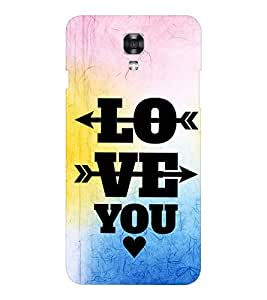 EPICCASE love arrows Mobile Back Case Cover For LG X Power (Designer Case)