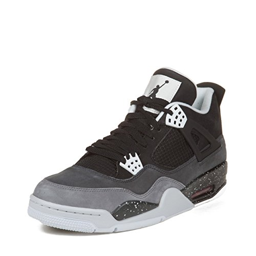 save off 32d51 c7a46 Nike Mens Air Jordan 4 Retro Fear Pack Suede Basketball Shoes