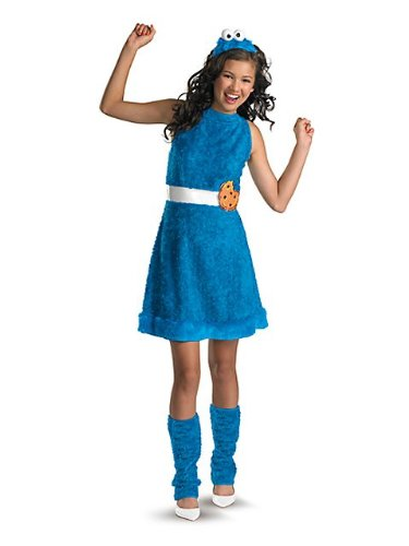 Cookie Monster Costume - Teen Large front-11710