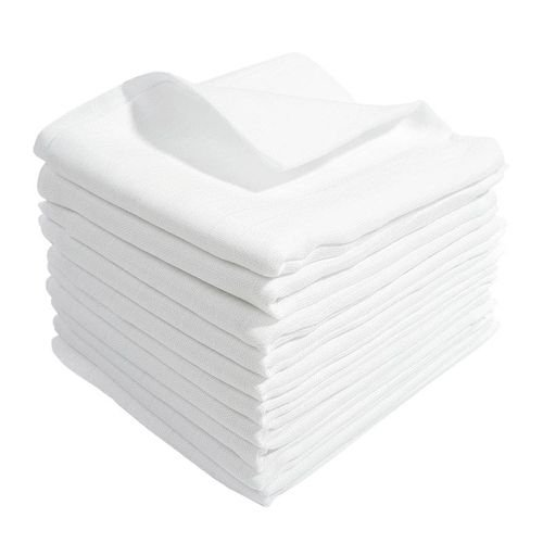 10-Mullwindeln-60x80-cm-weiss-100-Baumwolle-kochfest-bis-95-Moltontuch-Mulltuch-Spucktuch-Stoffwindel-Mulltcher