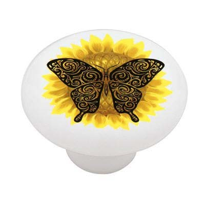 sunflower-tribal-butterfly-decorative-high-gloss-ceramic-drawer-knob