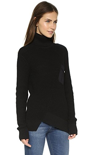 Marc by Marc Jacobs Women's Turtleneck Sweater, Black, Small