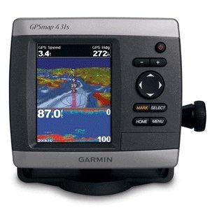 GARMIN GPSMAP 431S GPS CHART FISHFINDER DUAL BEAM T/M (36347)