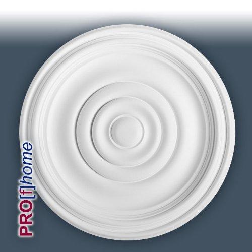 Orac R08 Ceiling Rose Rosette Medallion Centre quality polyurethane classic style decor white | 38 cm = 15 inch diameter
