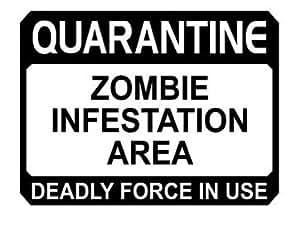 Amazon.com - Zombie Outbreak Quarantine Zombie Infestation ...