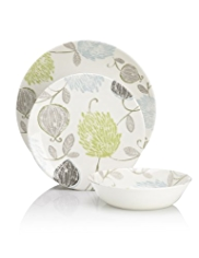 12 Piece Thistle Dinner Set