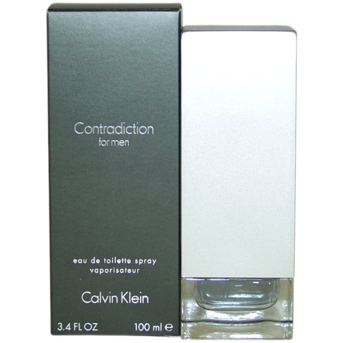 Calvin Klein Contradiction Eau de Toilette Spray for Men 100 ml