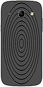 Snoogg Circular Target 2902 Solid Snap On - Back Cover All Around Protection ...