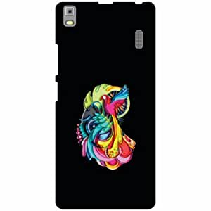 Lenovo A7000 - PA030023IN Back Cover - Silicon Flowers Designer Cases