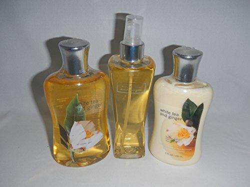 Bath & Body Works White Tea And Ginger Gift Set