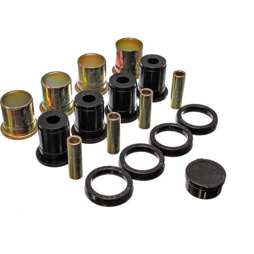 Energy Suspension 3.3136G Control Arm Bushing Set; Black; Rear; Incl. Thrust Washer Set; Performance Polyurethane; (Polyurethane Washer compare prices)