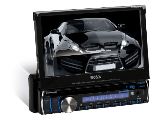 BOSS Audio Single-Din 7-inch Touchscreen Receiver with Bluetooth