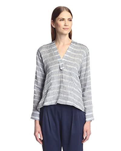 Derek Lam 10 Crosby Women's Shirt with Patch Pockets