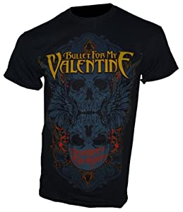 Bullet For My Valentine - T-Shirt WINGED SKULL Gr. L - Bandshirt