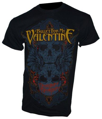 Bullet For My Valentine - T-Shirt teschio alato taglia XL - Band maglietta