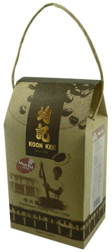 Traditional Penang White Coffee Premium Pack - Mocha Flavor (15 X 35 Grams Sachets)