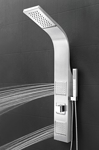 AKDY-39-Stainless-Steel-Wall-Mount-Easy-Connection-Rainfall-Waterfall-Overhead-Multi-Function-Shower-Tower-Panel-Massage-Spray