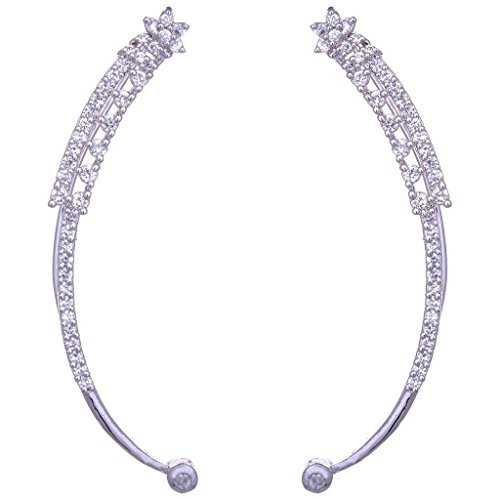 the-jewelbox-ear-cuffs-pair-american-diamond-nakshatra-eternity-white-gold-plate