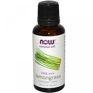 Now Foods Lemongrass Oil 100% Pure, 1 Ounce