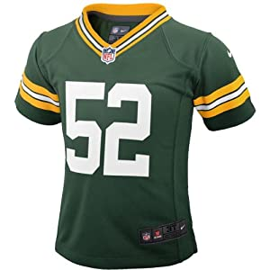 Clay Matthews Green Bay Packers Kids Game Replica Jersey by NFL