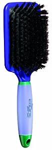 ConairPRO Equine FX 100-Percent Boar Bristle Finishing Brush, Green/Purple