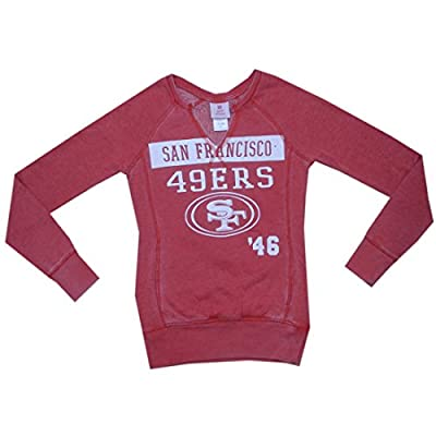 NFL Girls Team Logo Athletic Long Sleeve Sweatshirt - SAN FRANCISCO 49ERS