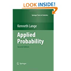 Applied Probability (Springer Texts in Statistics)