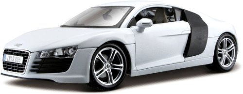 Audi R8 White 1/18 Diecast Model Car (Audi R8 Model Car compare prices)