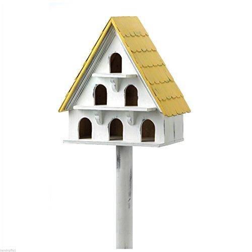 birdhouse-standing-cape-cod-bird-condo-and-house-new
