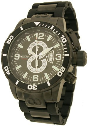 Buy INVICTA MEN'S CORDUBA DIVER CHRONO W/BLACK DIAL/BLACK IPB BEZEL AND LINK BAND – 4902