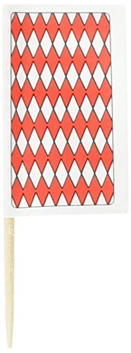 Beistle 60099 50-Pack Playing Card Picks, 2-1/2-Inch