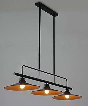 Chp02 iron vintage chandelier black modern light fixtures for Kitchen spotlights amazon