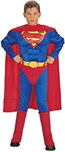Deluxe Muscle Chest Superman- Small (Small (Sizes 4-6))