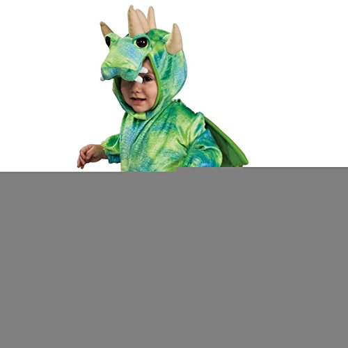 [GSG Lil' Dragon Costume Baby Jumpsuit Halloween Fancy Dress] (Toddler Lil Ninja Costumes)