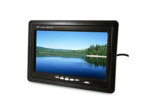"Generic 7"" Pillow Tft Lcd Color Car Monitor (Black)"