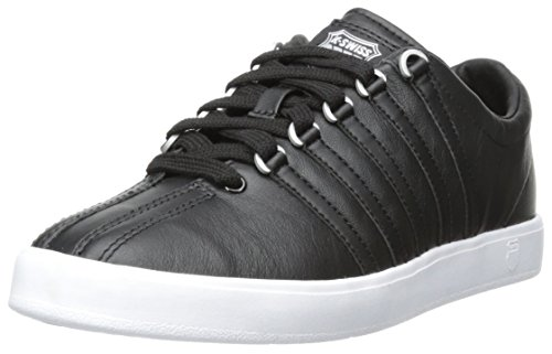 K-Swiss Women's The Classic Lite Fashion Sneaker,Black,9 M US