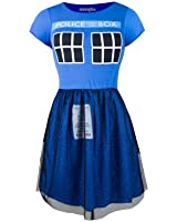 Doctor Who Tardis Ballerina Junior's Costume Dress