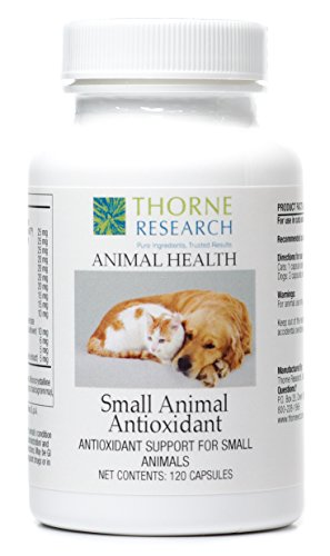 Thorne Research Veterinary - Small Animal Antioxidants - Antioxidant Support for Small Animals - 120 Capsules