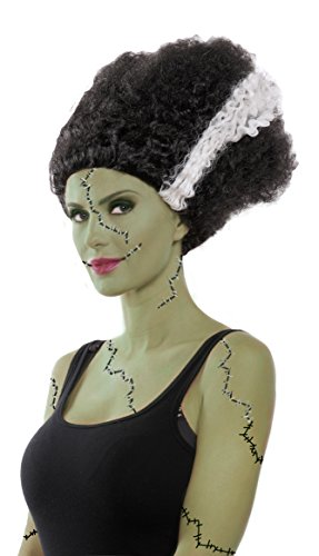 Party King Women's Monster Bride Costume Wig