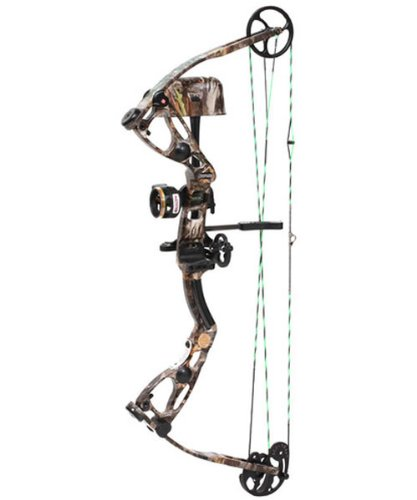Martin Leopard Bow Package 60-Pounds (Camo, Left Hand)