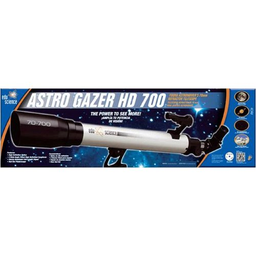 Edu Science Astro Gazer 700 Young Astronomer'S Refractor Telescope