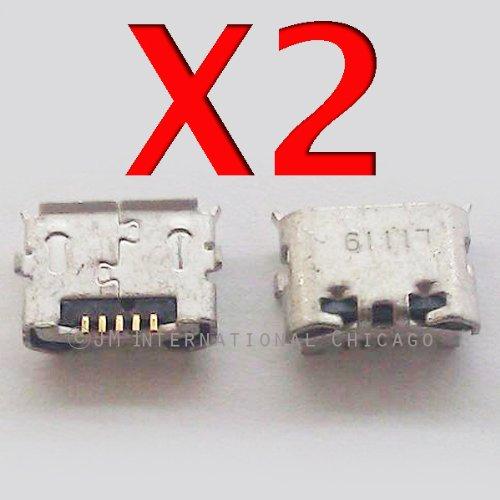 Epartsolution-2 X Htc Evo Design 4G / Hero S (Cdma) Ph44100 Charging Port Dock Connector Usb Port Repair Part Usa Seller front-595306