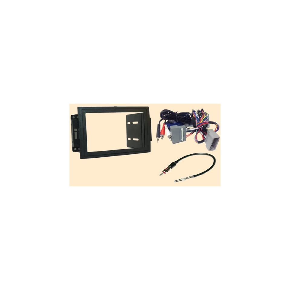 Pleasant Double Din Radio Stereo Navigation Bezel Dash Kit Fits Jeep Grand Wiring Digital Resources Tziciprontobusorg