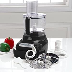 Wolfgang Puck 7 Cup Food Processor Black BFPR0007-001