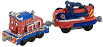 Chuggington StackTrack Chug Patroller Calley and Jet Sprayer Car