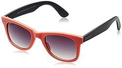 MTV Roadies Wayfarer Sunglass (Orange) (RD-112-C11)